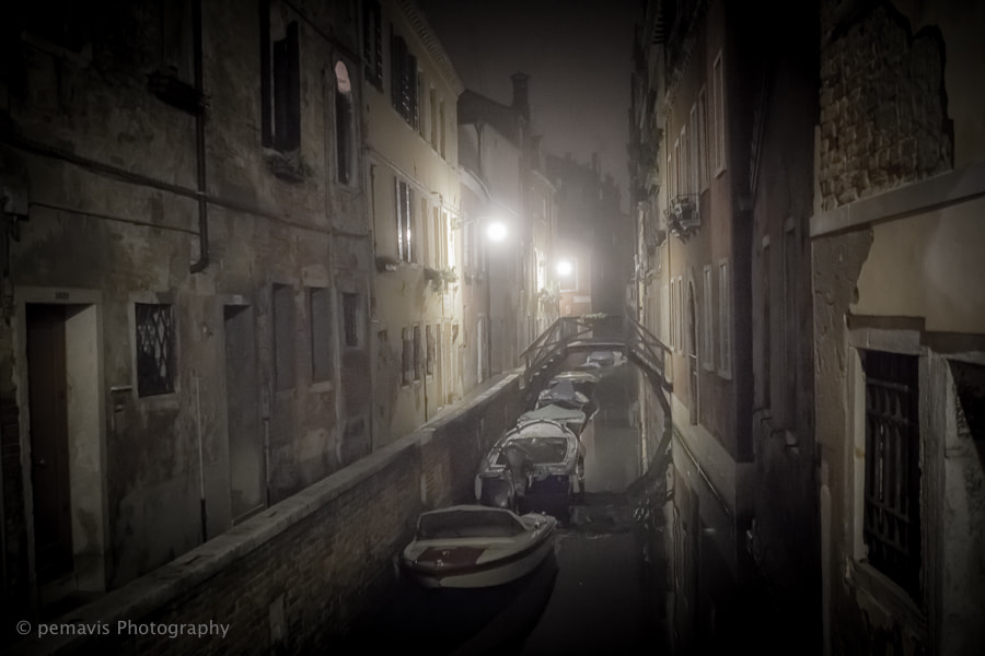 Photograph foggy nights in venice II by Pe Ka on 500px