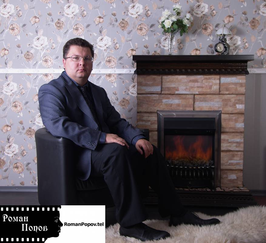 Photograph The businessman sits in a chair near a fireplace. by Roman Popov on 500px