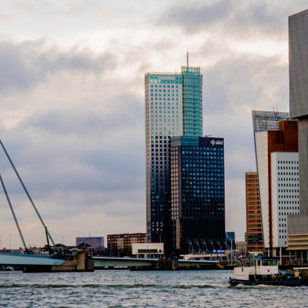 Rotterdam, in the blues, Sony ILCE-6000, Sony E 18-200mm F3.5-6.3 OSS LE