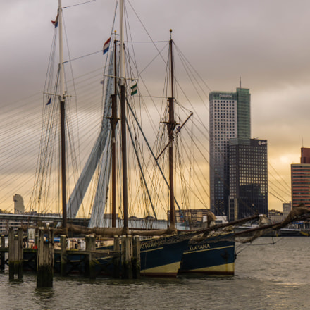 Yacht Veerhaven, Rotterdam, Sony ILCE-6000, Sony E 18-200mm F3.5-6.3 OSS LE