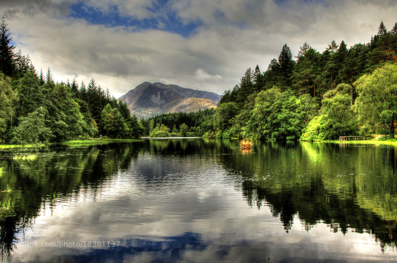Photograph Lochan Glen Coe  3 by Hilda Murray on 500px