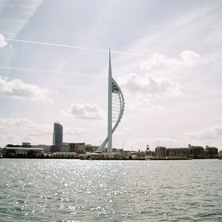 Spinnaker Tower, Canon EOS 5, Canon EF 28-105mm f/3.5-4.5 USM