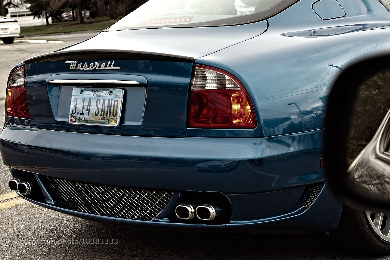 Photograph Maserati by Wilson Usman on 500px