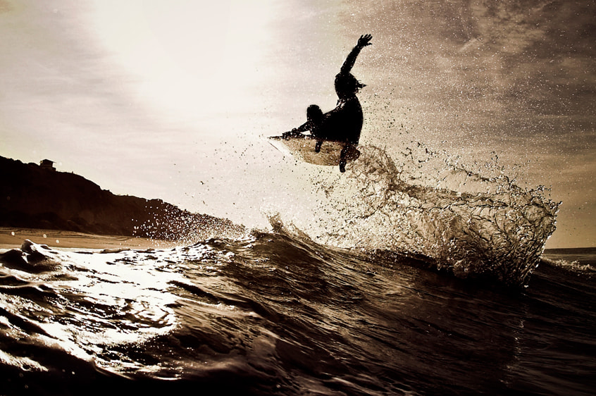 Photograph Surfing by Jeff Farsai on 500px