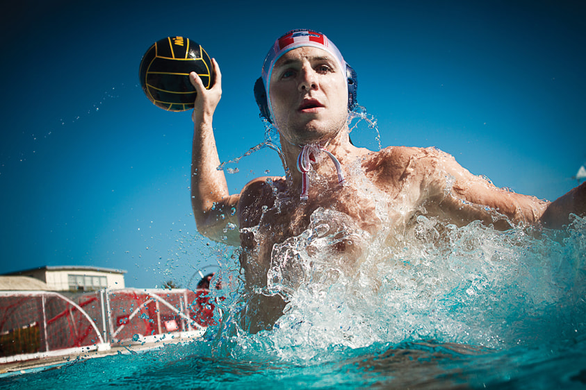 Photograph Water polo Tony Azavedo by Jeff Farsai on 500px