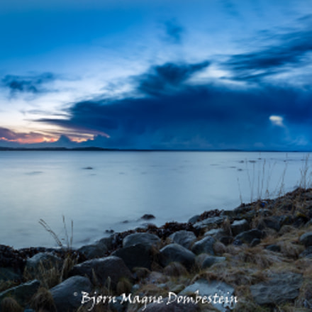 Sunrise behind stormcloud, Canon EOS 6D, Canon EF 24mm f/2.8 IS USM