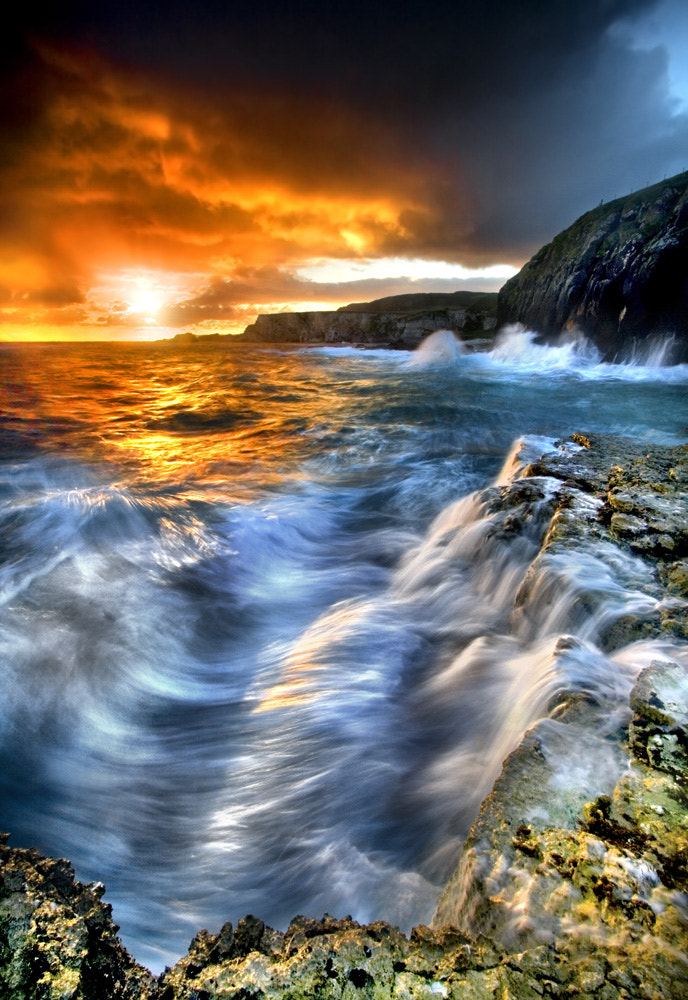 Photograph Earth - Fire - Water by Stephen Emerson on 500px