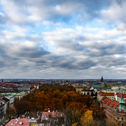 Cracovie from the top