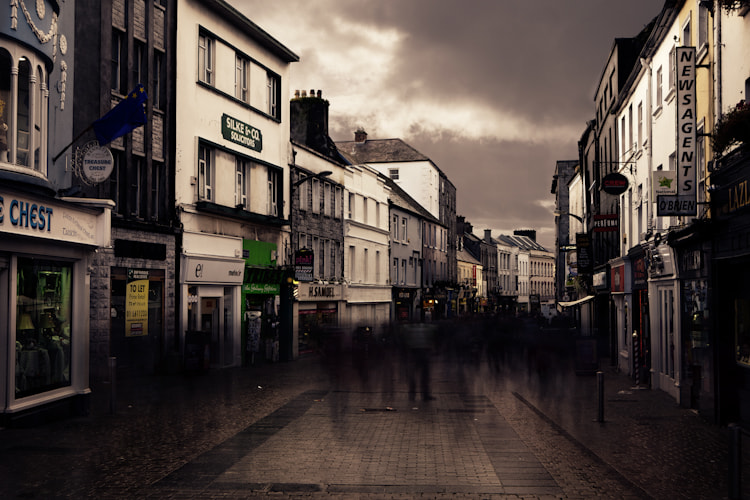 Photograph Galway Shop Street by Casey Rubenok on 500px