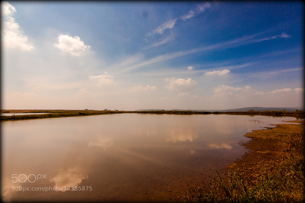 Photograph Reflection of Sky by Ayan Das on 500px