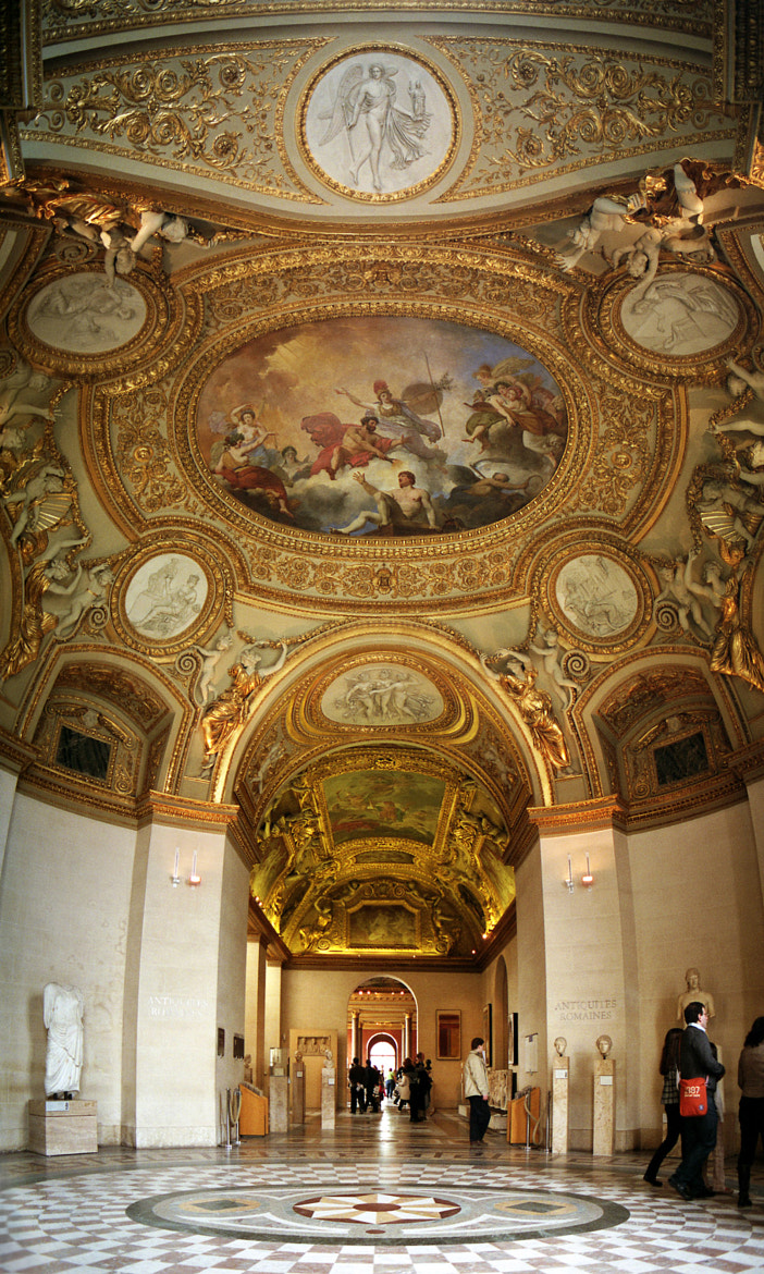 Photograph Decoración del Louvre / Decoration of the Louvre by Luis Alberto Alvarez on 500px