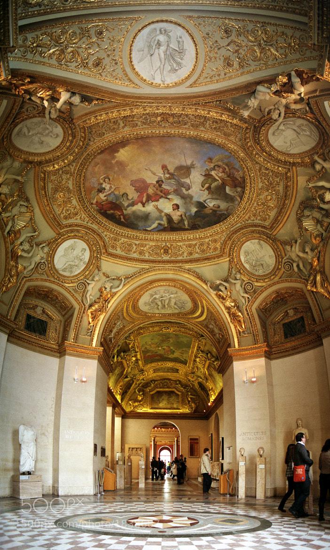 Photograph Decoración del Louvre / Decoration of the Louvre by Luis Alberto Alvarez on 500px
