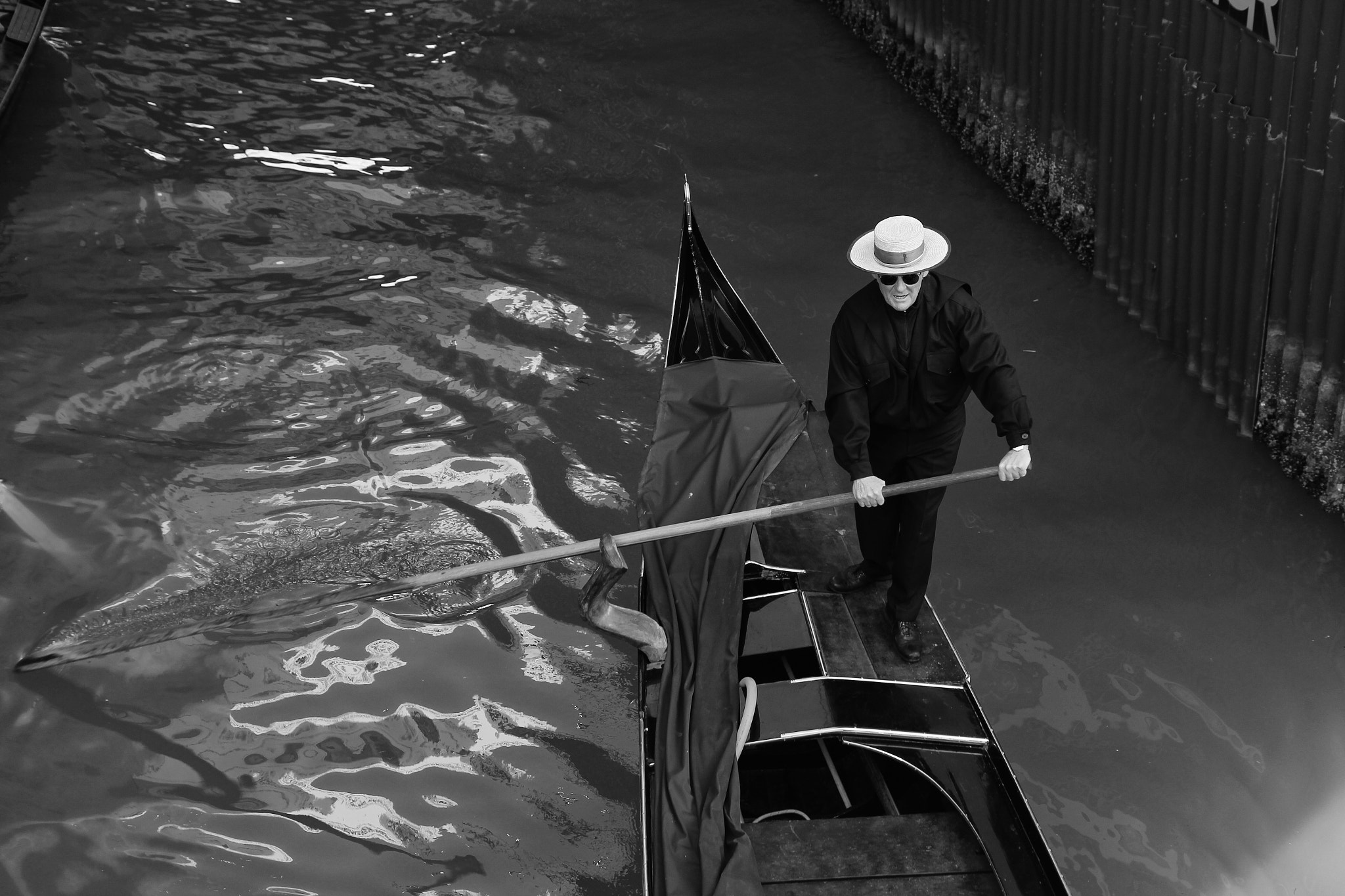 Photograph Gondolier in Venice, Italy by Jelena Beketic on 500px