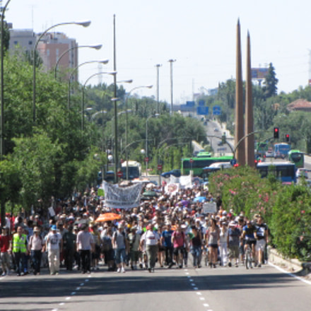 Marchas Dignidad, Canon POWERSHOT SX1 IS