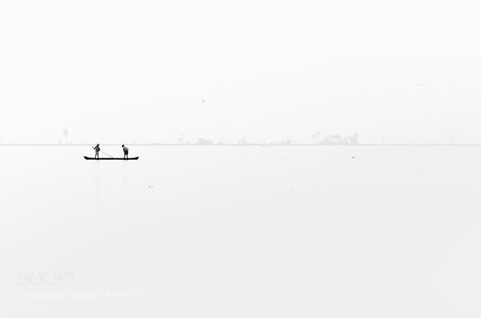 Photograph Fishing minimalism by Vidhu S on 500px