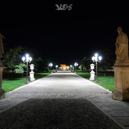 Isola Memmia vista da Ponte Dei Papi, Prato Della Valle, Padova