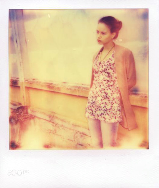 Photograph Polaroid. Julia. by Varvara Novozhilova on 500px