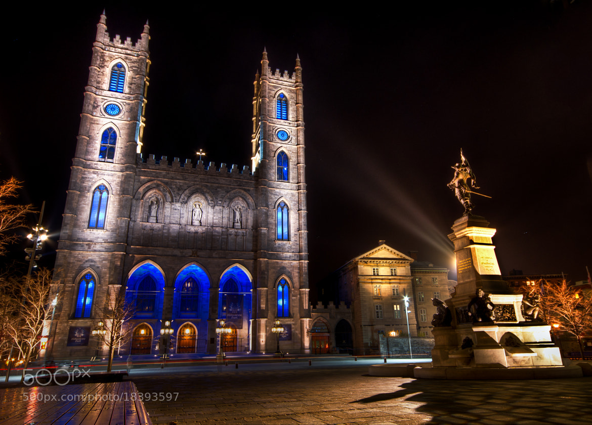 Photograph Notre-Dame Basilica by Michael Vesia on 500px