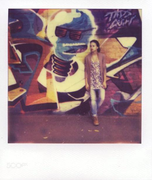 Photograph Polaroid. Julia. by Varvara Novozhilova on 500px