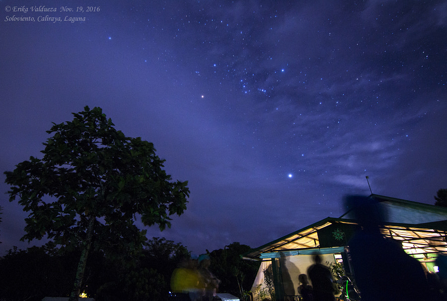Clouds and Orion by erika valdueza on 500px.com