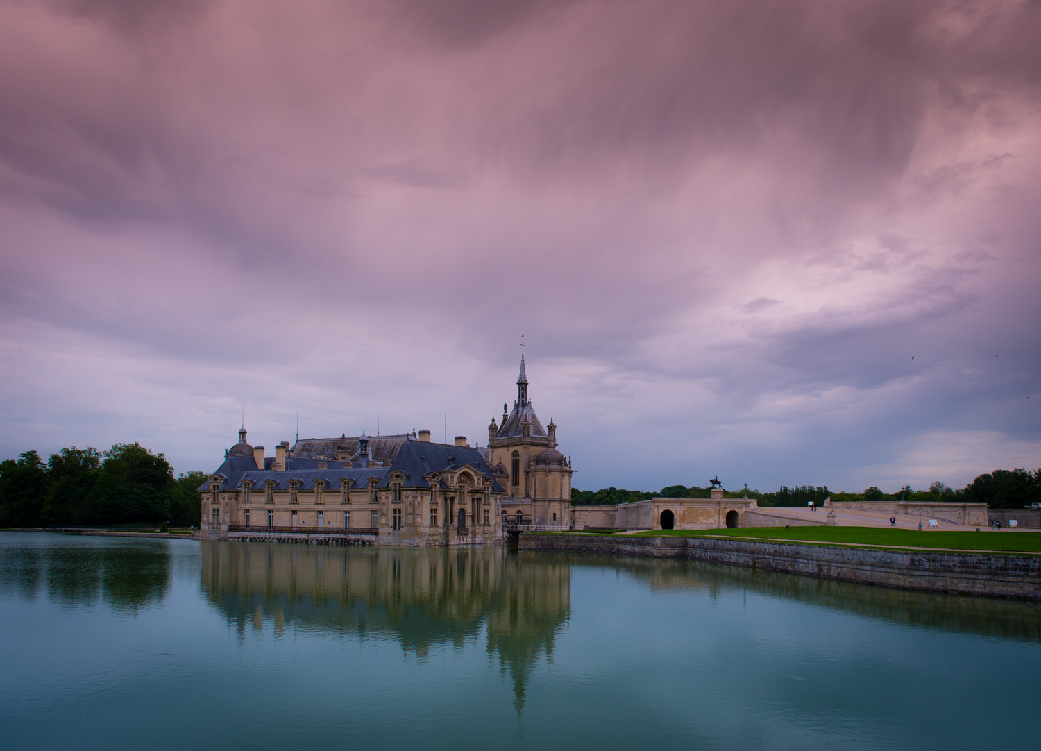 Photograph Chateau Chantilly by Tanya Rist on 500px