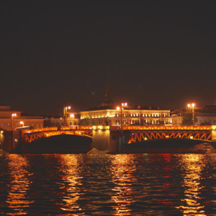 Saint-Petersburg in the night, Sony DSLR-A300, Sony DT 55-200mm F4-5.6 (SAL55200)