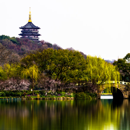 Leifeng Pagoda above West, Canon EOS 7D, Sigma 24-105mm f/4 DG OS HSM | A