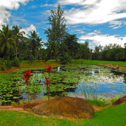SEY Praslin [Golf Lilly Lake] OCT 2012 by KWOT