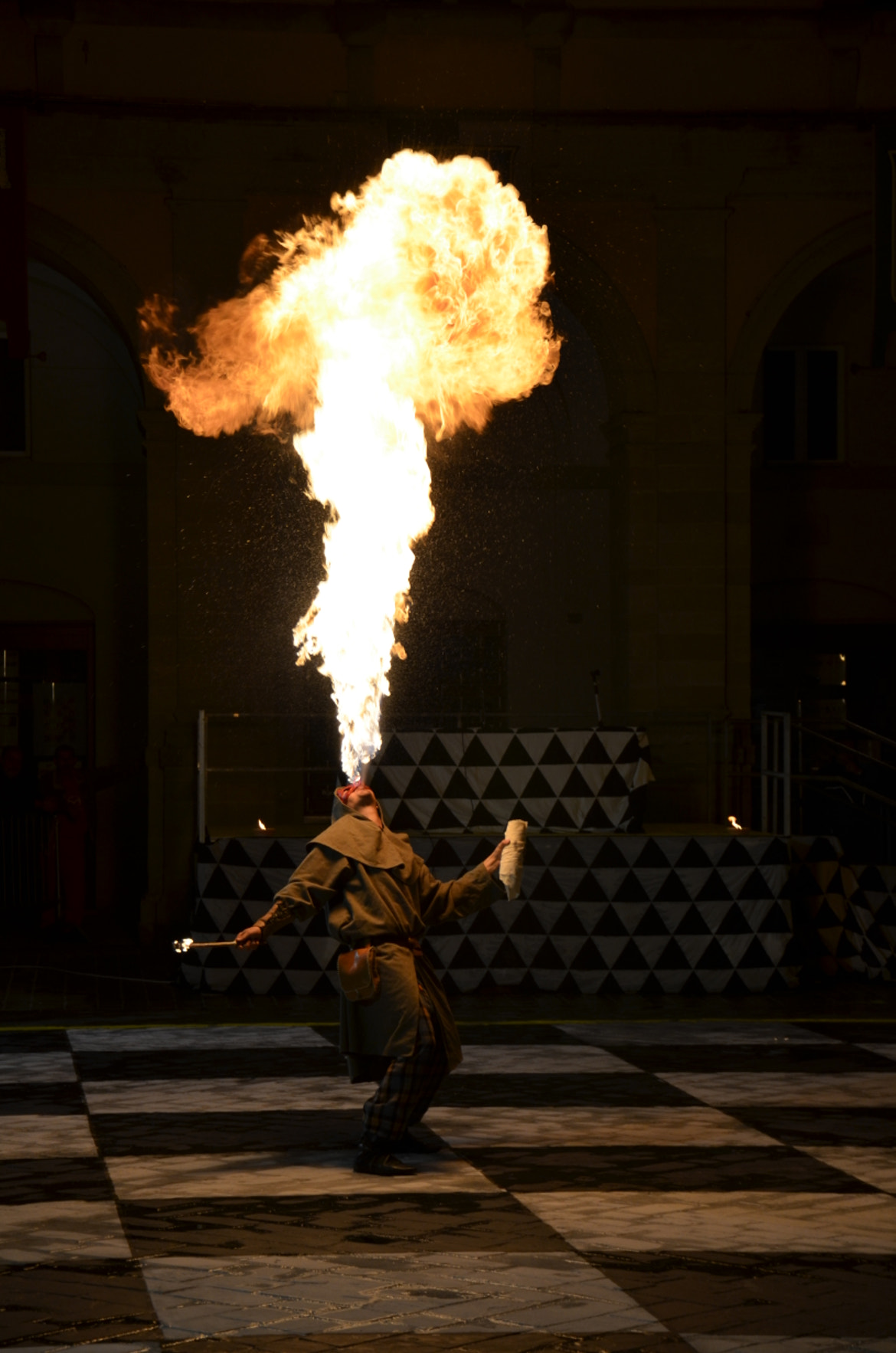Photograph Spits fire by Vanderlei Bailo on 500px