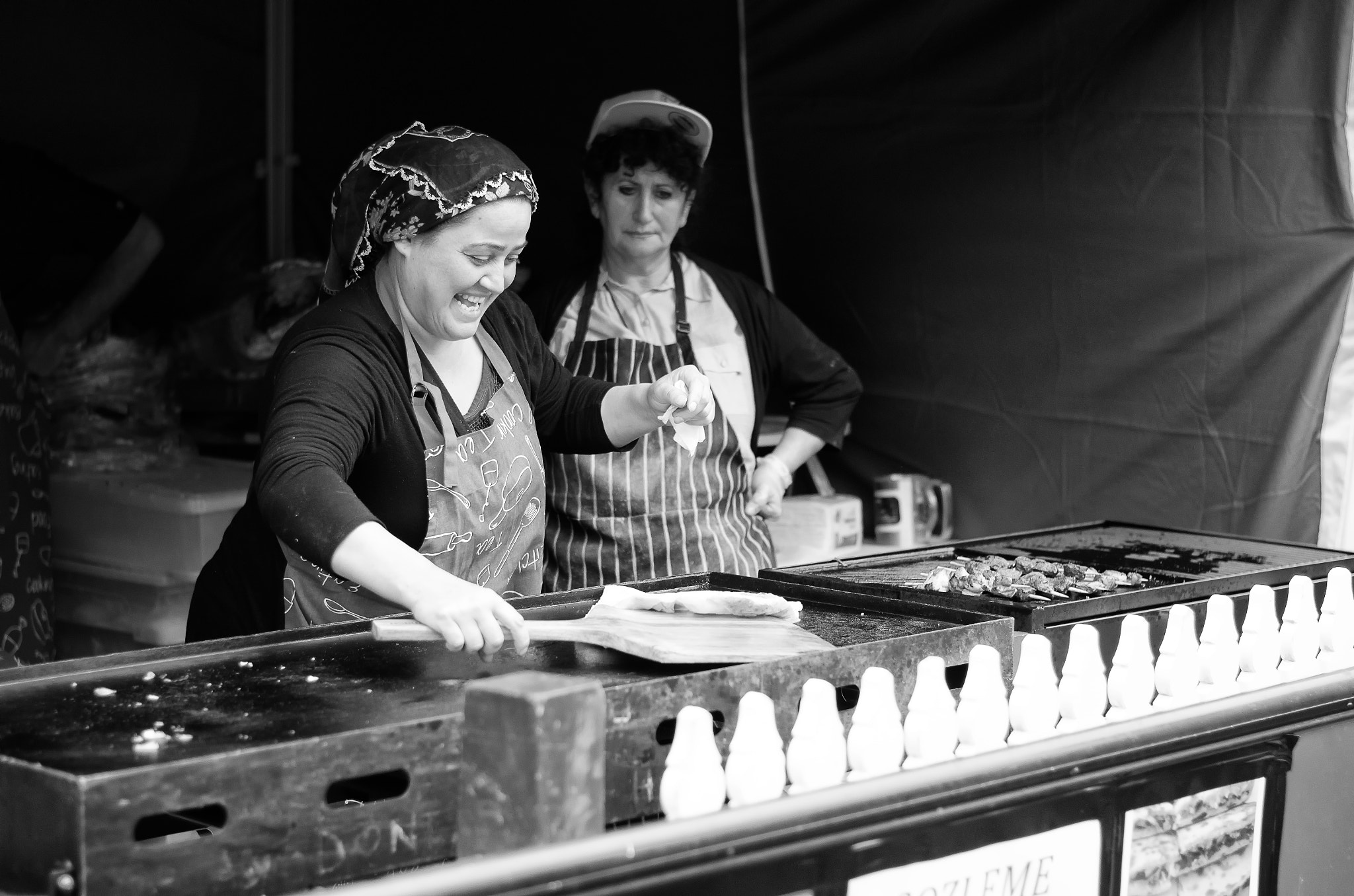 Photograph Happy Food Stall by Thomas J Hunt on 500px