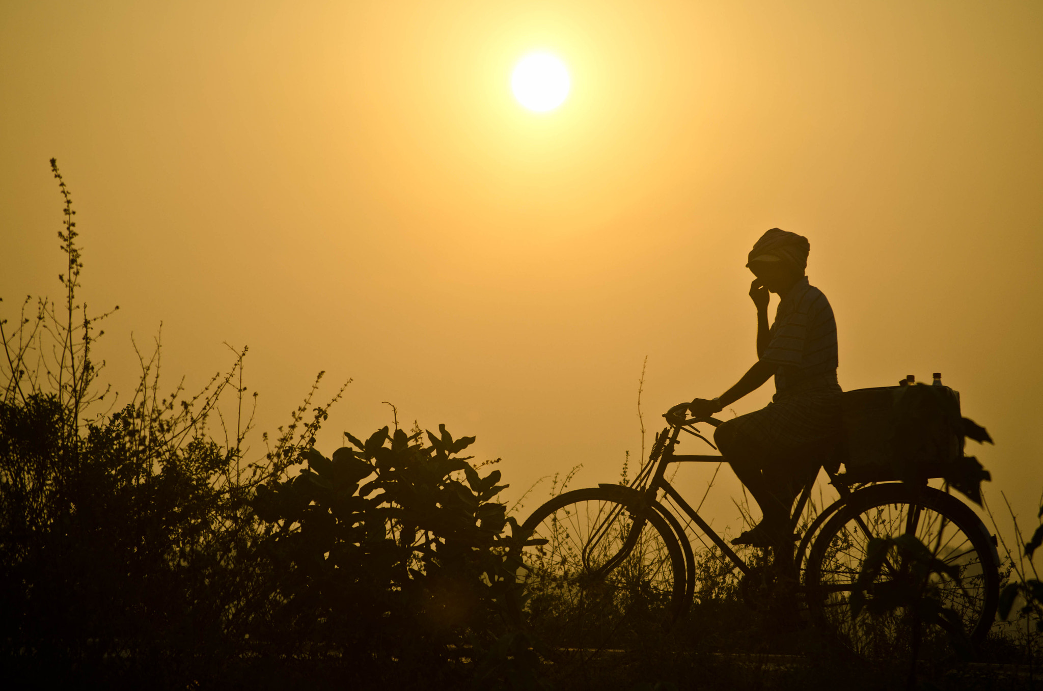 Photograph The Morning Ride by Madhusudanan Parthasarathy on 500px