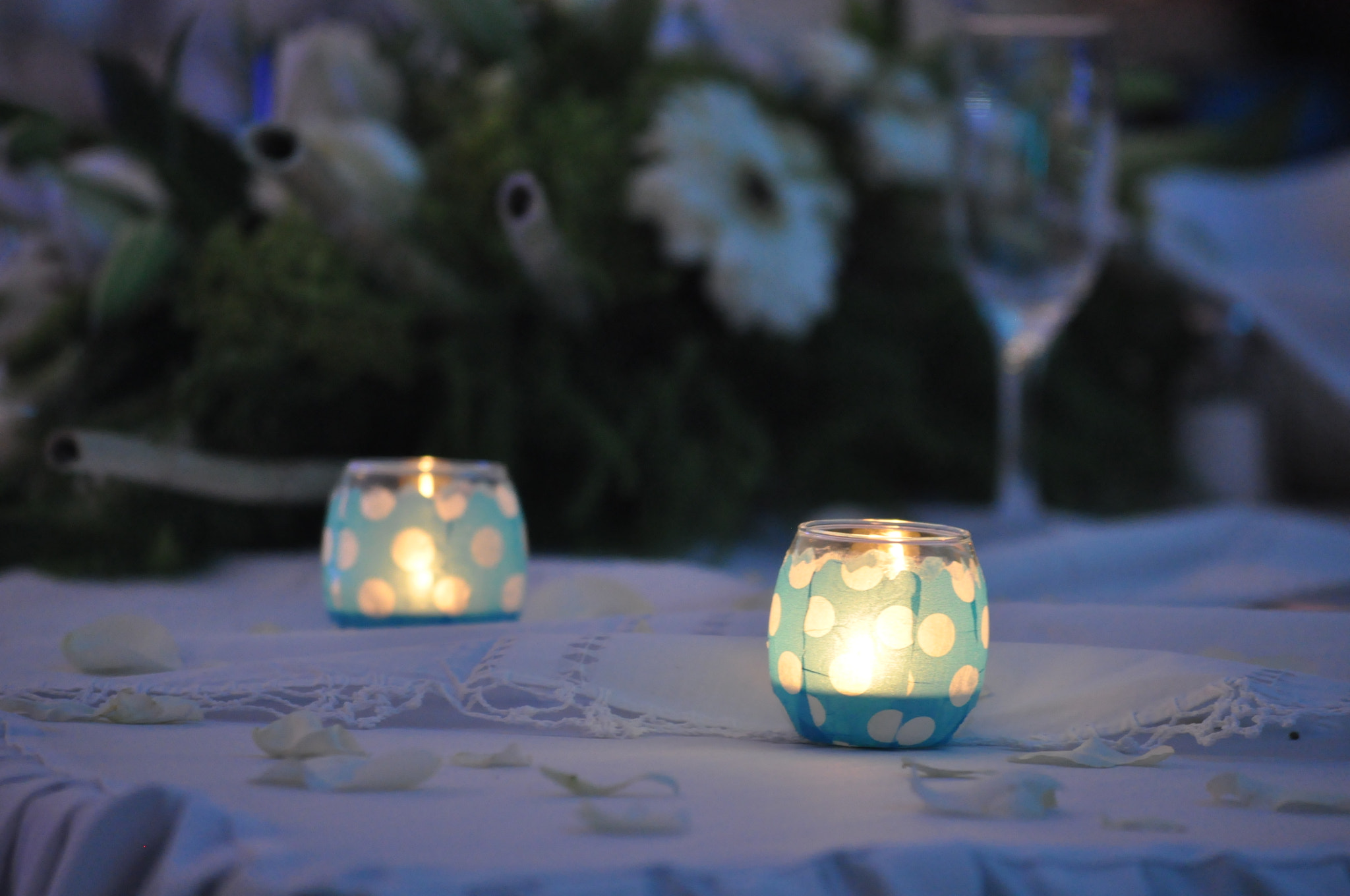 Photograph Blue candles by Guillermo J. Romero on 500px
