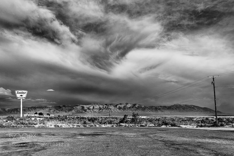 Photograph Utah B+W by Chris Lacour on 500px