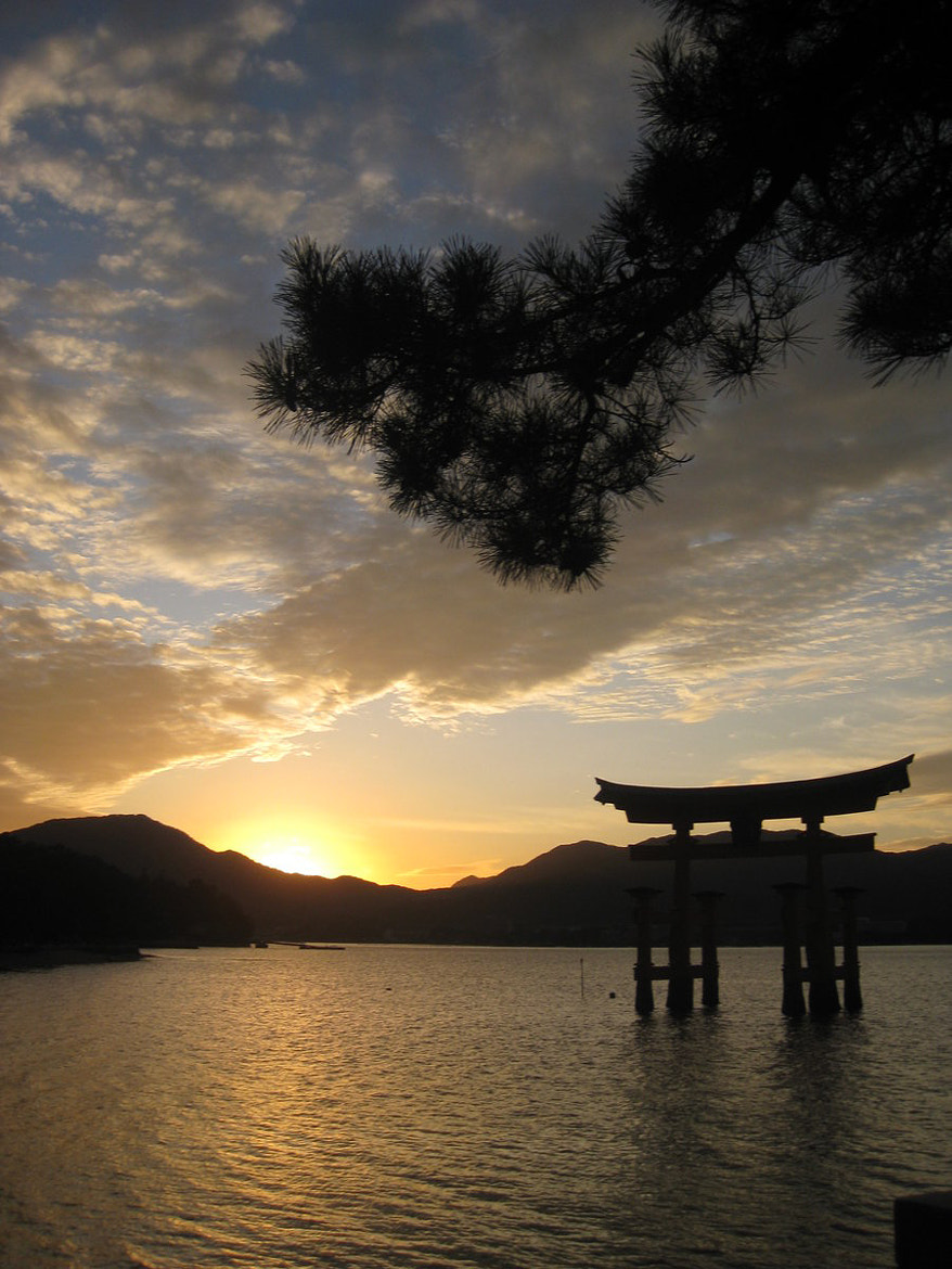 Photograph Miyajima Sunset by Cassie Holmes on 500px