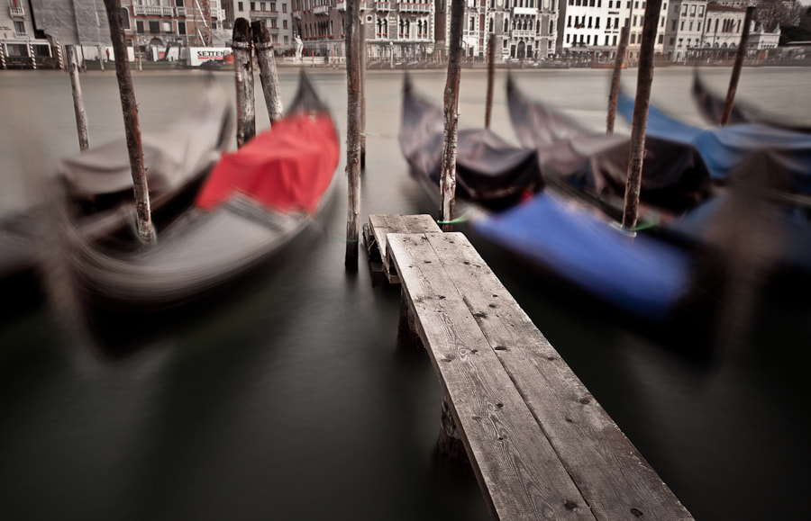 Photograph Gondolas At Bay by Joseph Fronteras on 500px