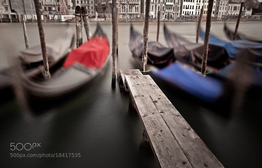 Photograph Gondolas At Bay (i) by Joseph Fronteras on 500px
