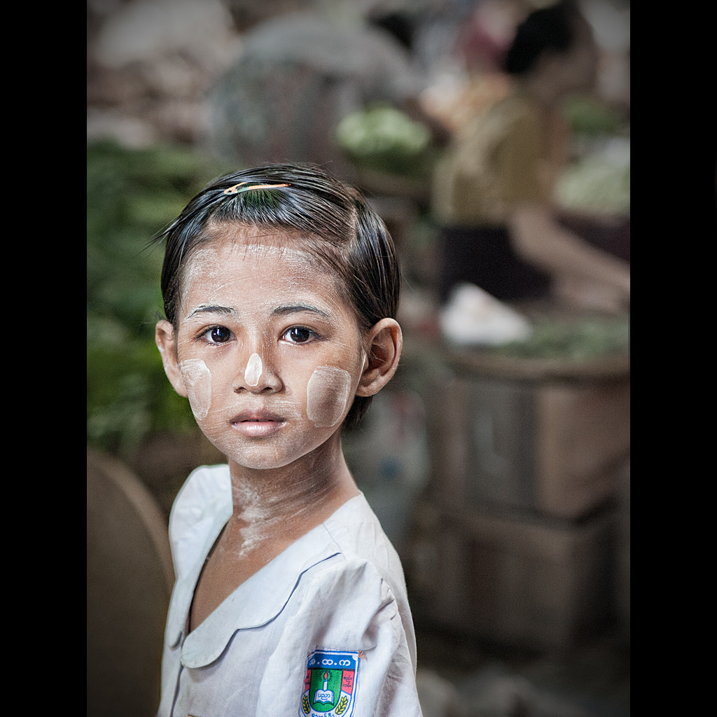 Photograph Burmese girl by Malcolm Fackender on 500px