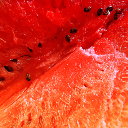Watermelon background, Canon POWERSHOT G10