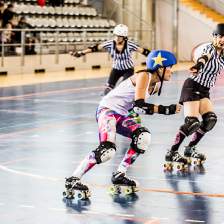 Roller Derby by Olivier, Canon EOS 5D MARK III, Sigma 70-200mm f/2.8 APO EX HSM