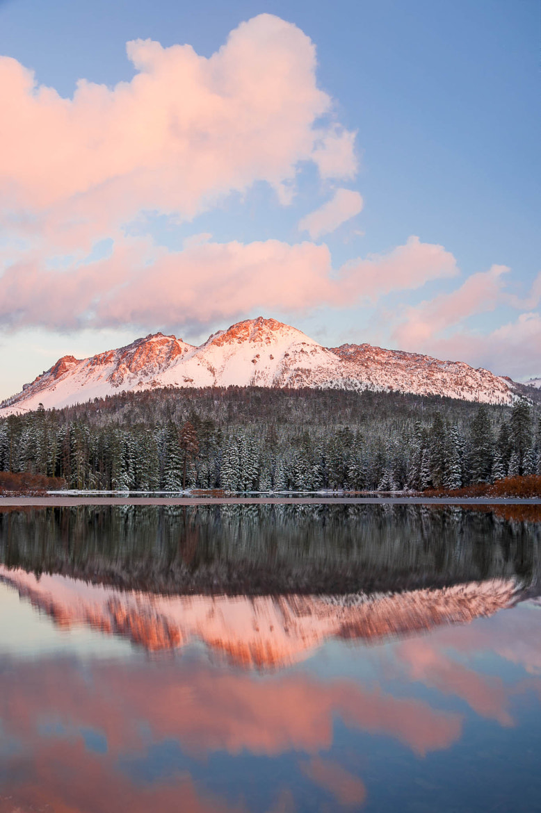 Photograph You and Me (Manzanita Lake in Mount Lassen NP) by Eric Leslie on 500px