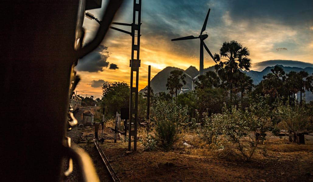 Train Ride Through South India