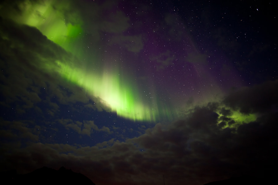 Photograph First aurora for the 2011/12 season by Helge Mortensen on 500px
