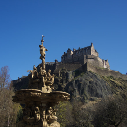 Edinburgh Castle from another, Nikon COOLPIX P7800