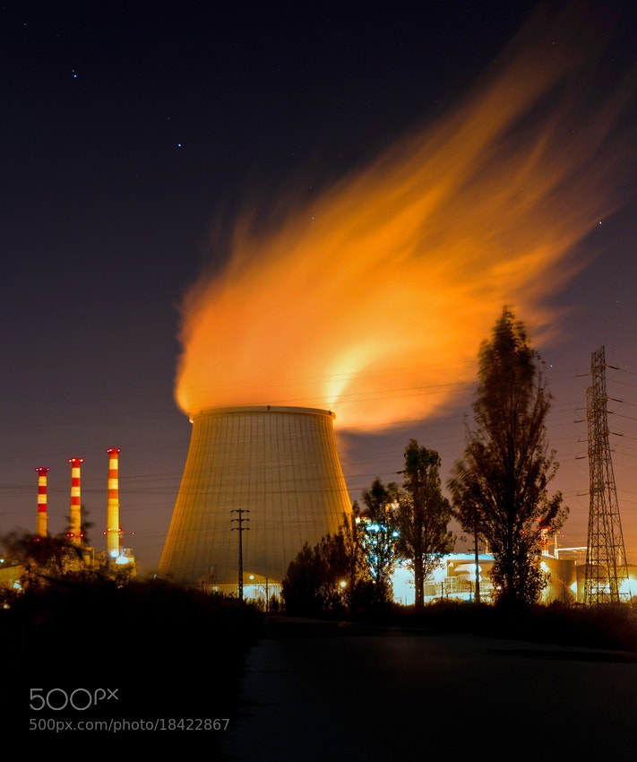 Photograph power station by António Leão de Sousa on 500px