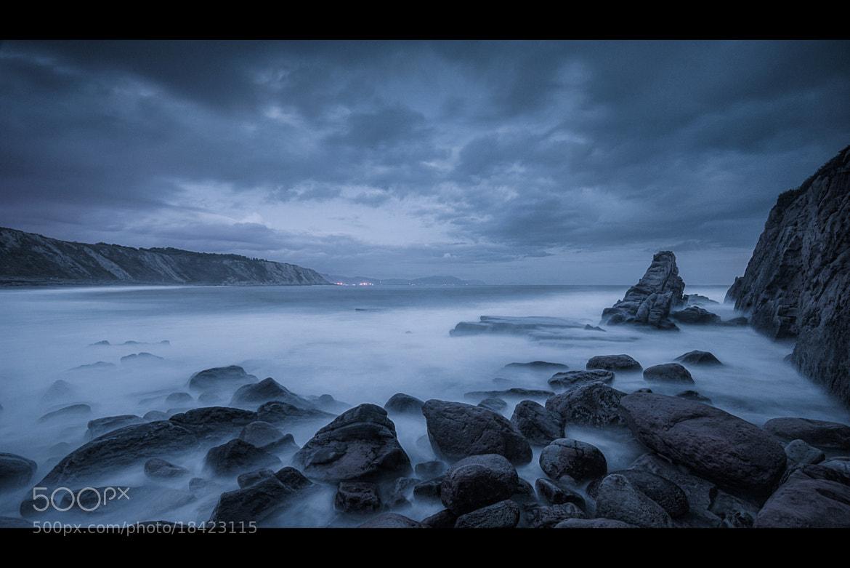 Photograph Azkorri Azul by WilsonAxpe /  Scott Wilson on 500px