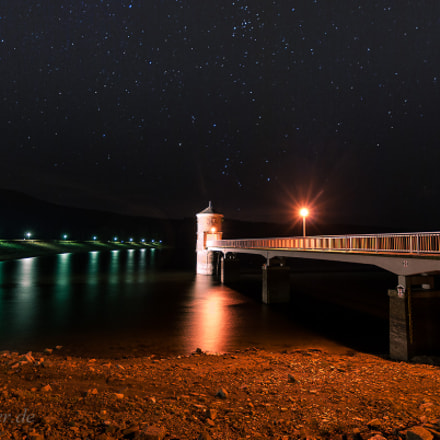 Stars and Water, Pentax K10D, Sigma 10-20mm F3.5 EX DC HSM