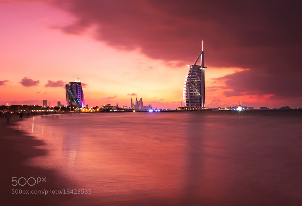 Photograph The Calm at Burj Al Arab by Almer  Frades on 500px