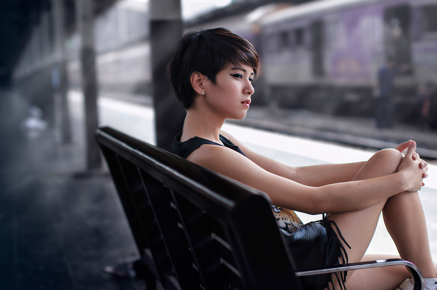 Photograph Waiting for someone by j.p photo  on 500px