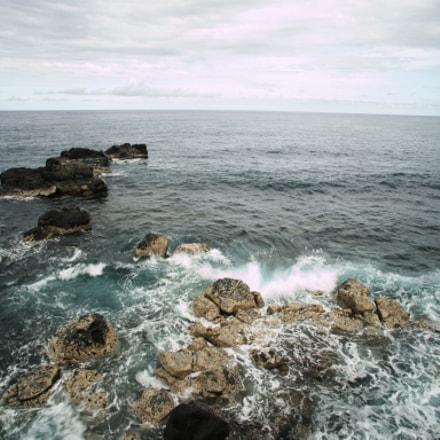 Wild coast of Saint Benoît
