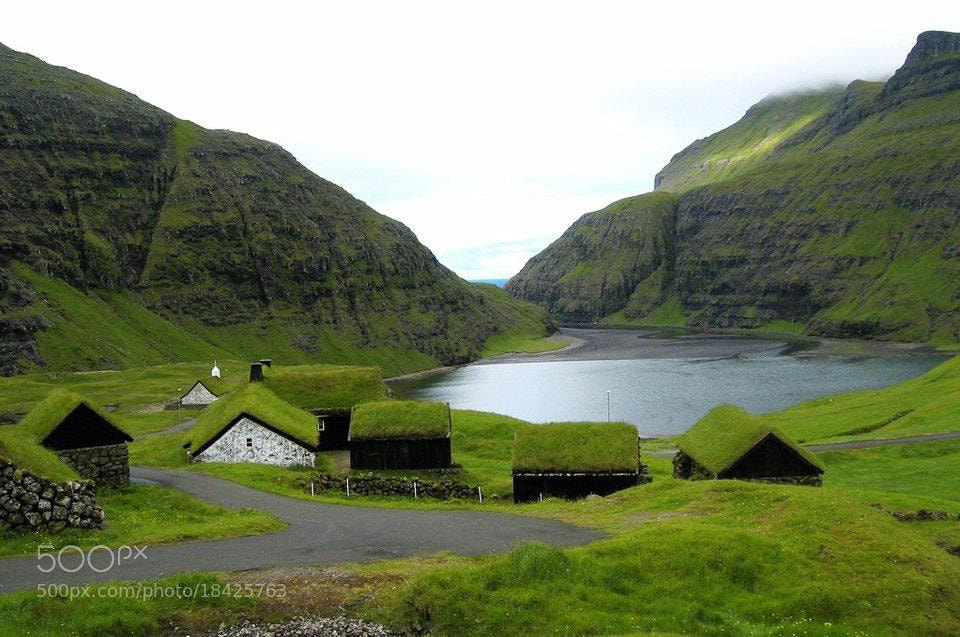 Photograph Saksun, Faroe Islands. by Saeed Hassan on 500px